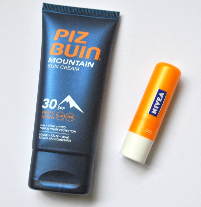 Piz Buin SPF Nivea Ski Sun Protection health beauty