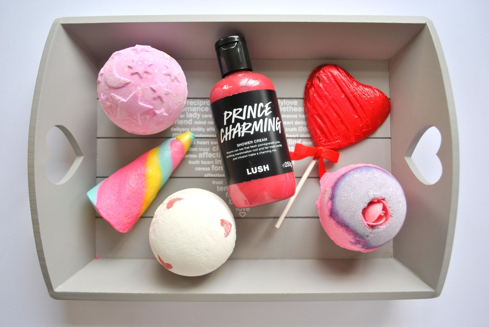 valentine's day lush bath products unicorn spring new twilight rose shower chocolate heart