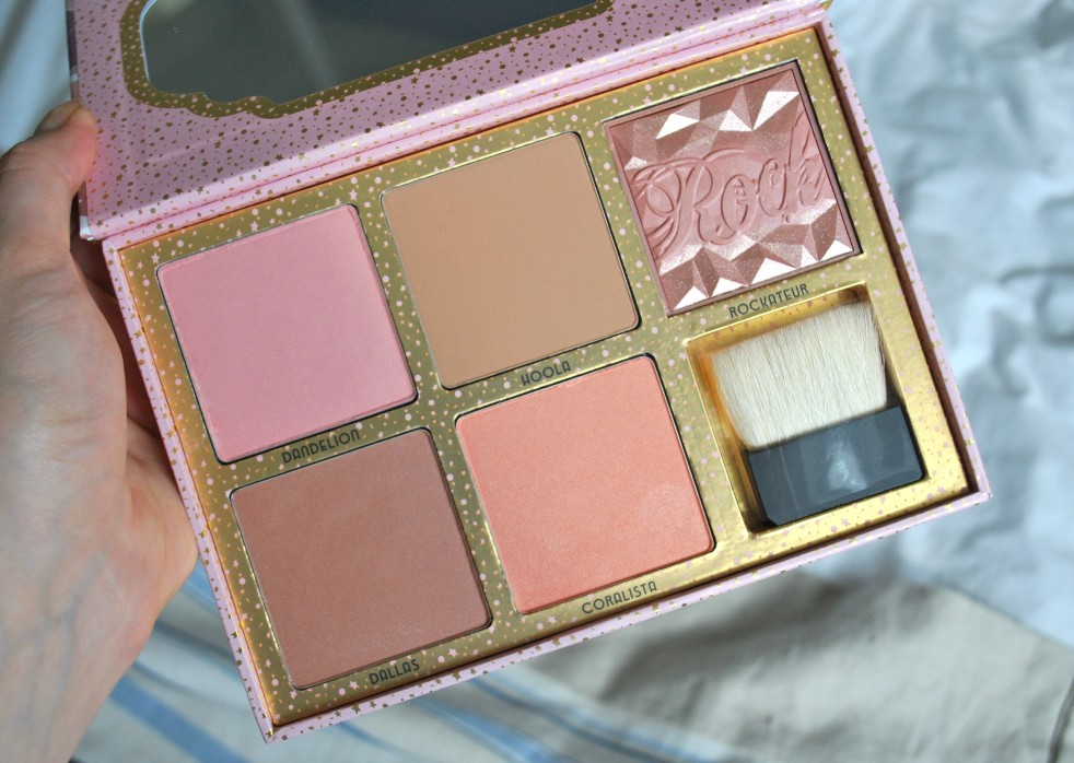 Benefit Cosmetics Cheekathon Palette blushes and bronzers