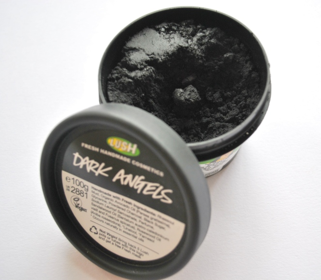Lush Dark Angels face and body charcoal scrub