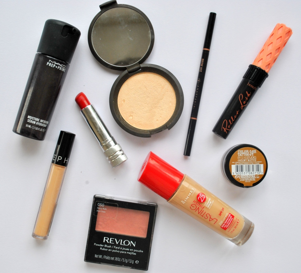 every day face make up products