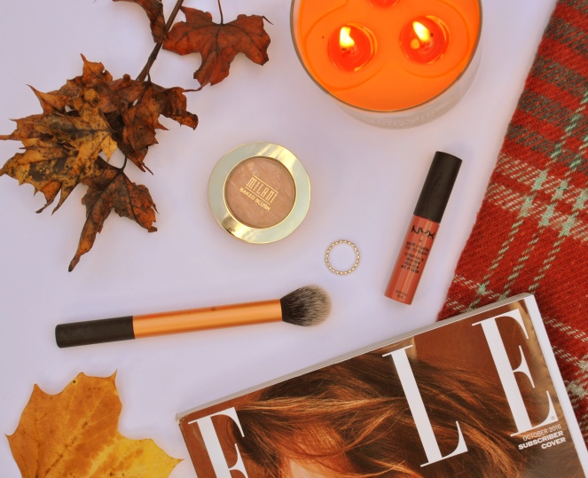 Fall Autumn Favourites NYX Real Techniques beauty candles ELLE milani