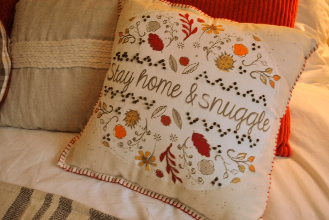 Autumn pillow by ASDA