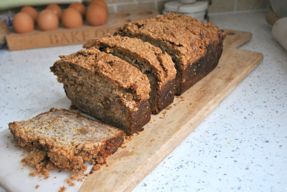 Banana Bread with Cinnamon Crust